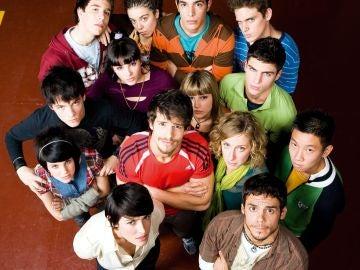 El elenco de 'Física o Química'