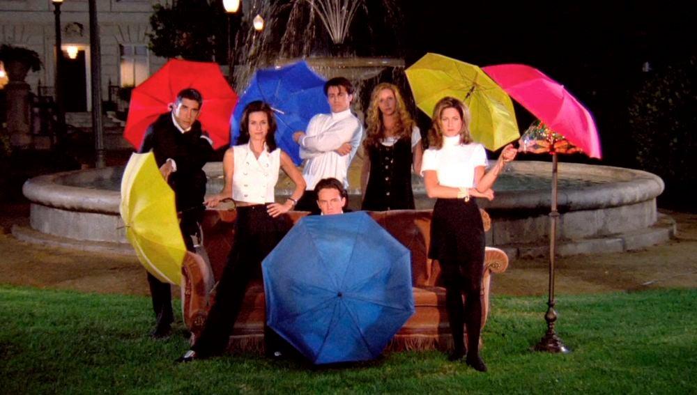 Imagen de los créditos de 'Friends'