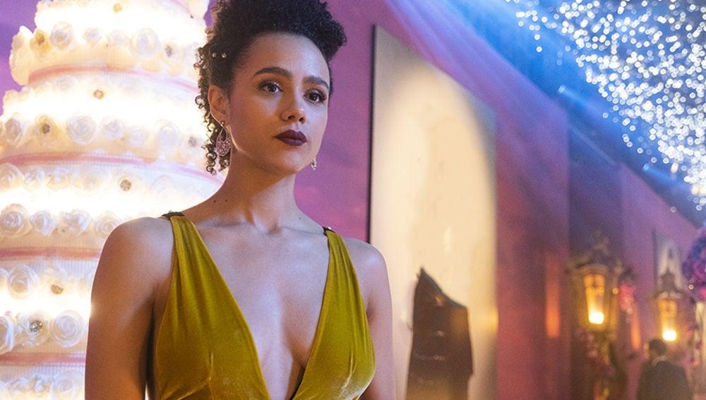 Maya, protagonista de 'Cuatro bodas y un funeral'