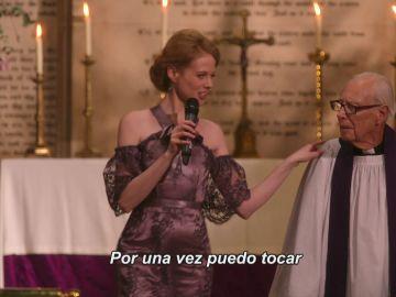 El momento en que la dama de honor le roba el protagonismo a la novia