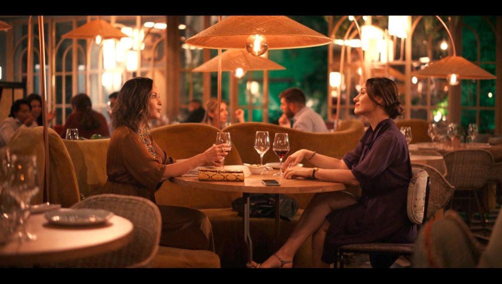 La tensa y sincera conversación de Cristina y Rebeca