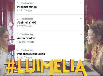 #Luimelia vuelve a ser Trending Topic en su segundo capítulo de estreno