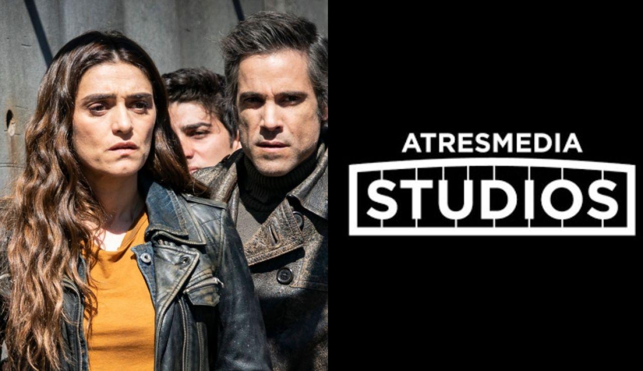 'La Valla' y logo de Atresmedia Studios
