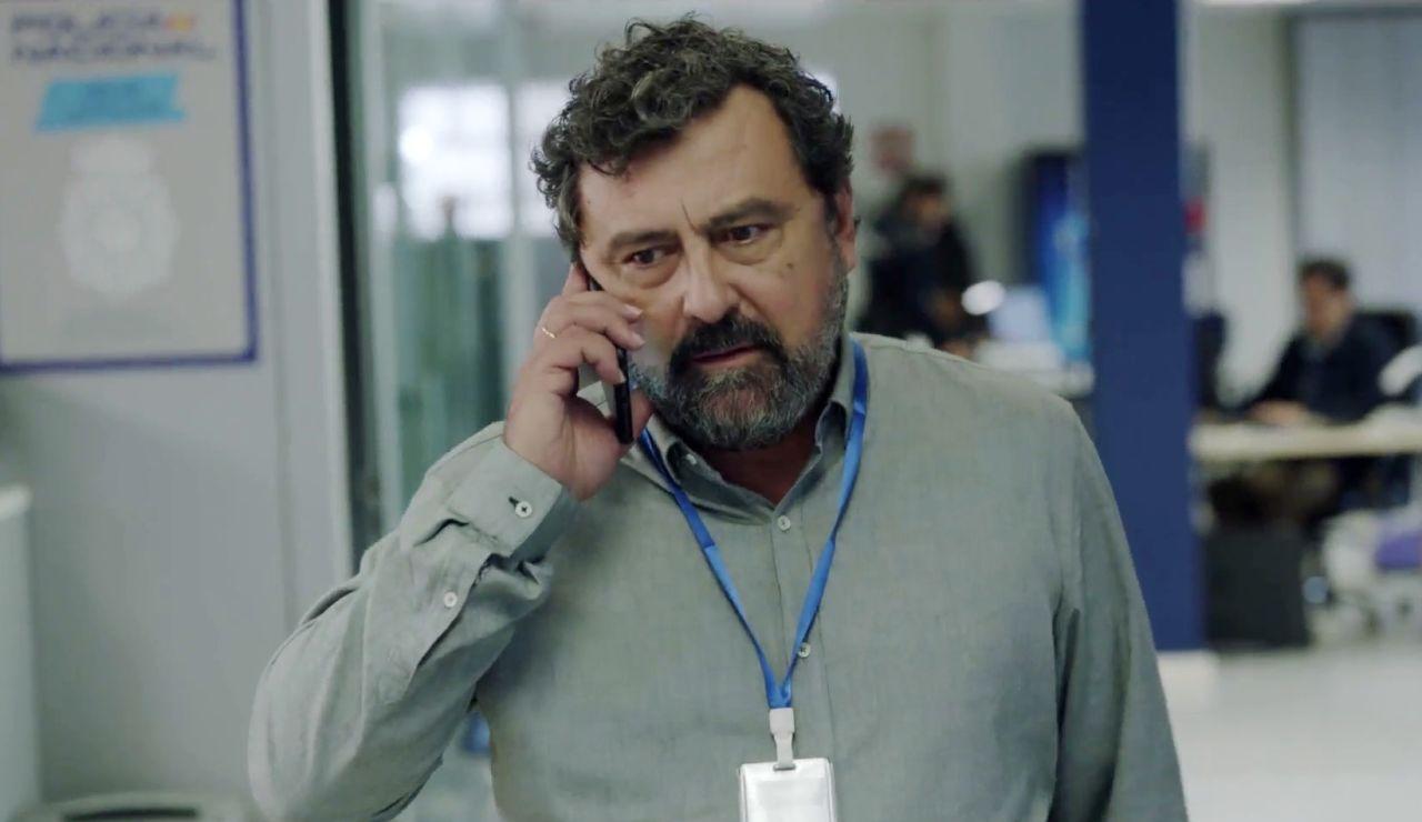 Silva, interpretado por Paco Tous
