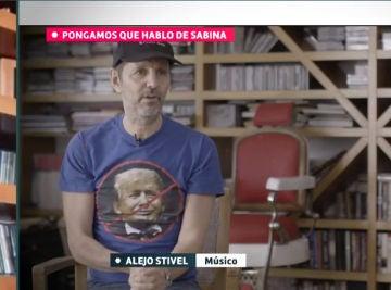 Adelanto de la participación de Alejo Stivel, cantante de Tequila, en 'Pongamos que hablo de Sabina'