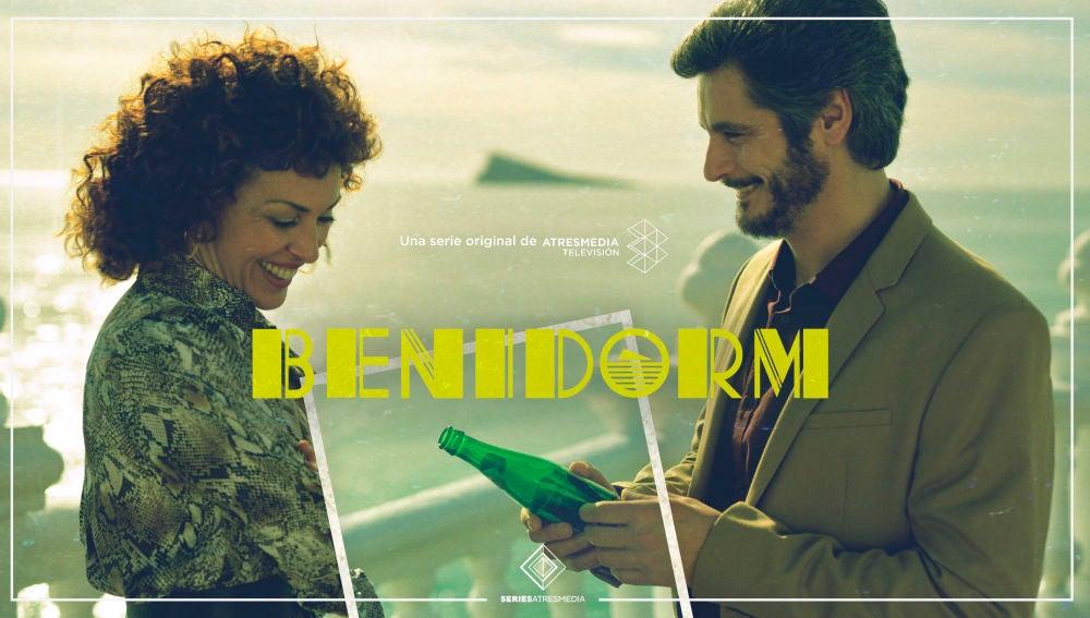 Cartel oficial de 'Benidorm', protagonizada por Antonio Pagudo y María Almudéver