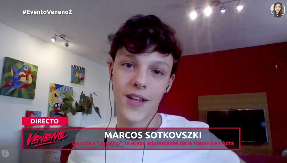 "Marcos Sotkovszki: ""Al casting me presenté con mi hermano mellizo"""