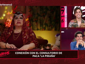 Las predicciones de Paca La Piraña para Javier Calvo y Javier Ambrossi