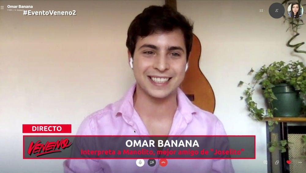 """Omar Banana: """"Lo pasé fatal cuando me llenaron la cara de granos"""""""