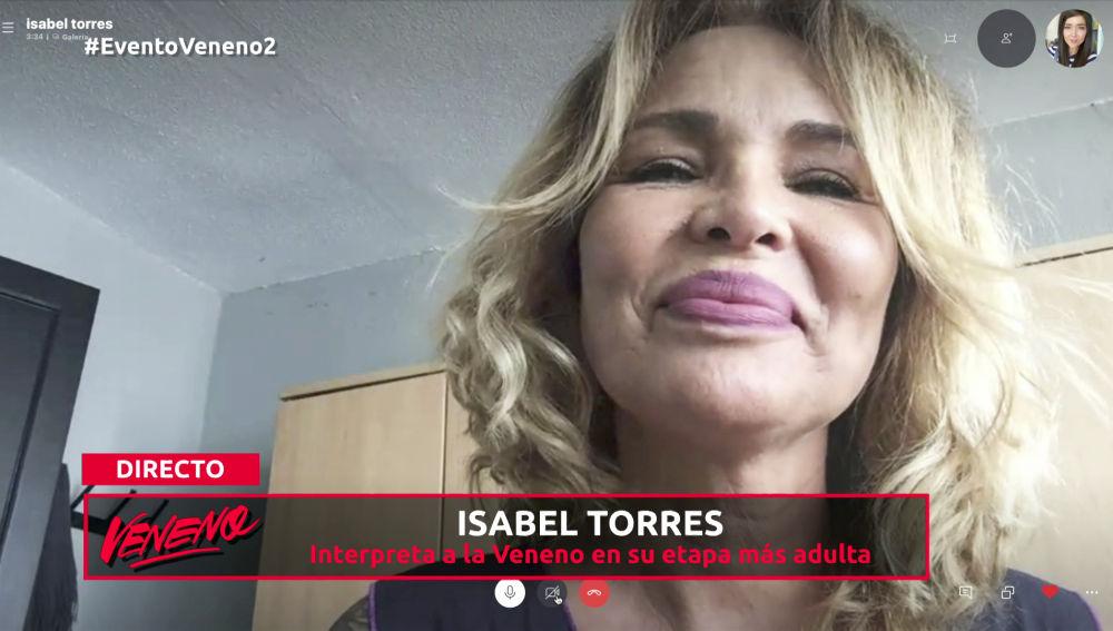 """Isabel Torres: """"En este capítulo vemos el corazón de 'Veneno' mayor"""