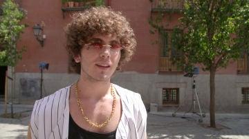 Álvaro de Juana sorprende en #Luimelia con un look con mucho flow y el beso más esperado por los fans