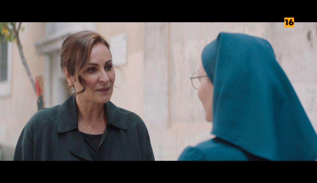 Ana Milán se mete en el papel de su próxima película: el de una monja