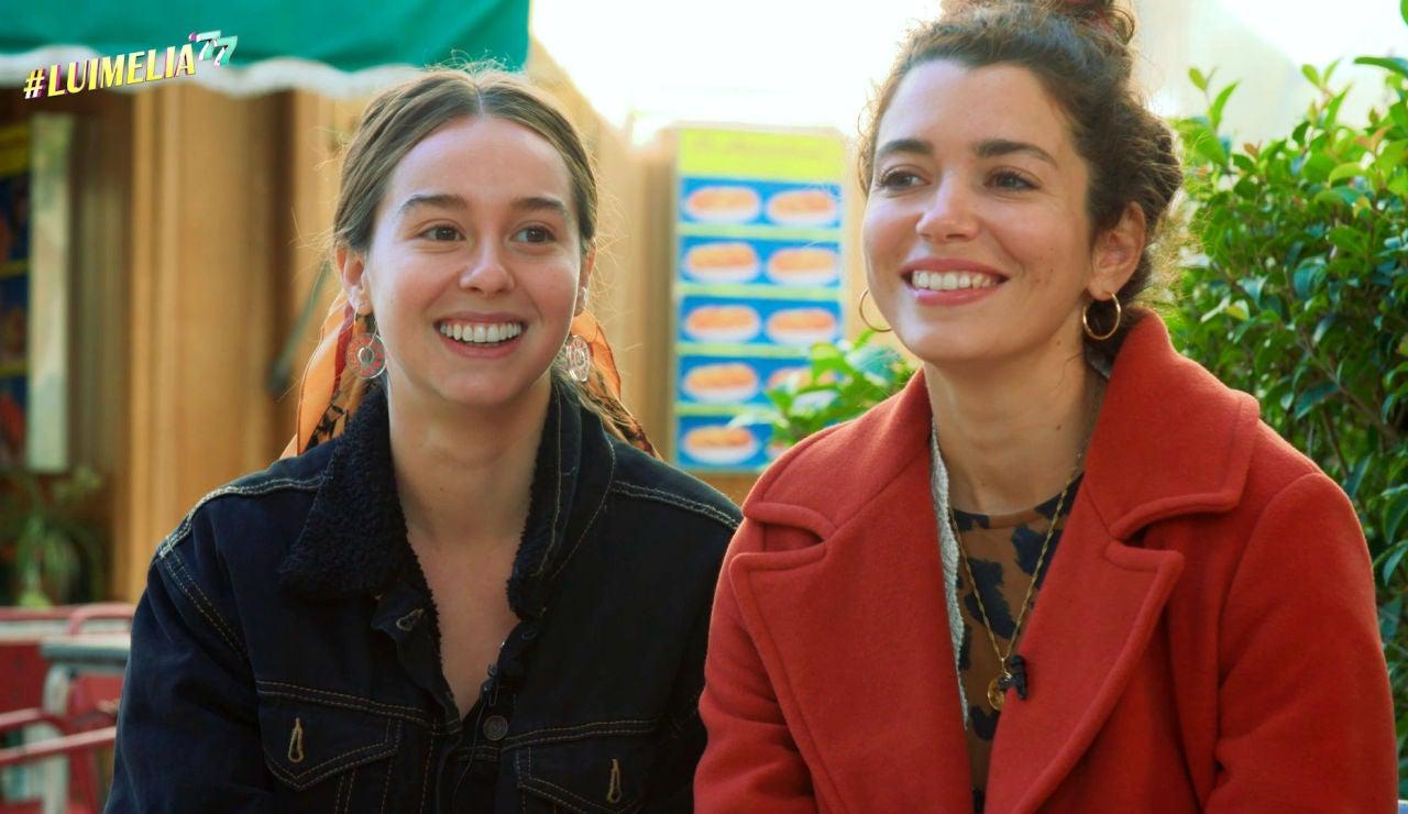 """Paula Usero y Carol Rovira: """"'#Luimelia 77' es el resumen perfecto de la historia de Luisita y Amelia"""""""