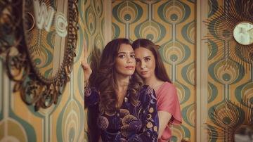 Paula Usero y Carol Rovira son Luisita y Amelia en #Luimelia 77