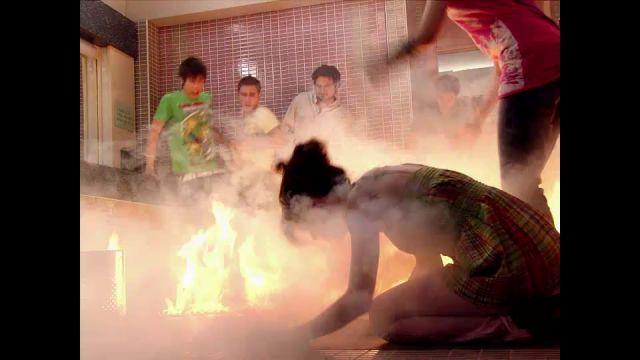 Así fue el incendio en el Zurbarán en 'Física o Química'