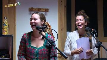 Paula Usero y Carol Rovira regresan a 'casa' para la divertida grabación de #Luimelia 77
