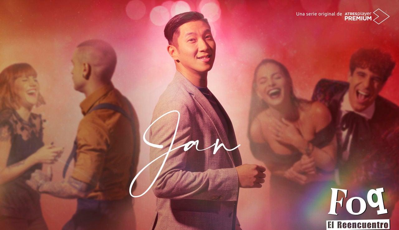 Andrés Cheung es Jan en 'FOQ: el reencuentro'