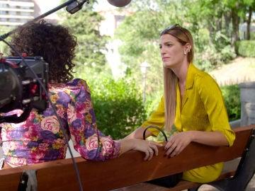 """Laura Sánchez se gana el corazón de #Luimelia en un set privilegiado: el making of de 'El tercero de la tercera"""""""