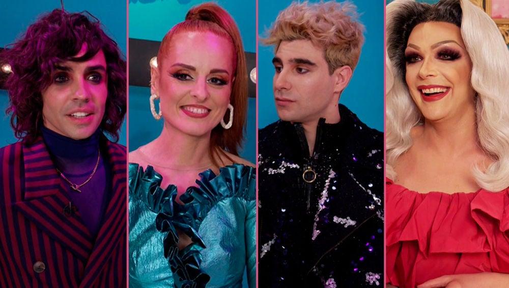 La emoción de Supremme de Luxe y el jurado de 'Drag Race España'