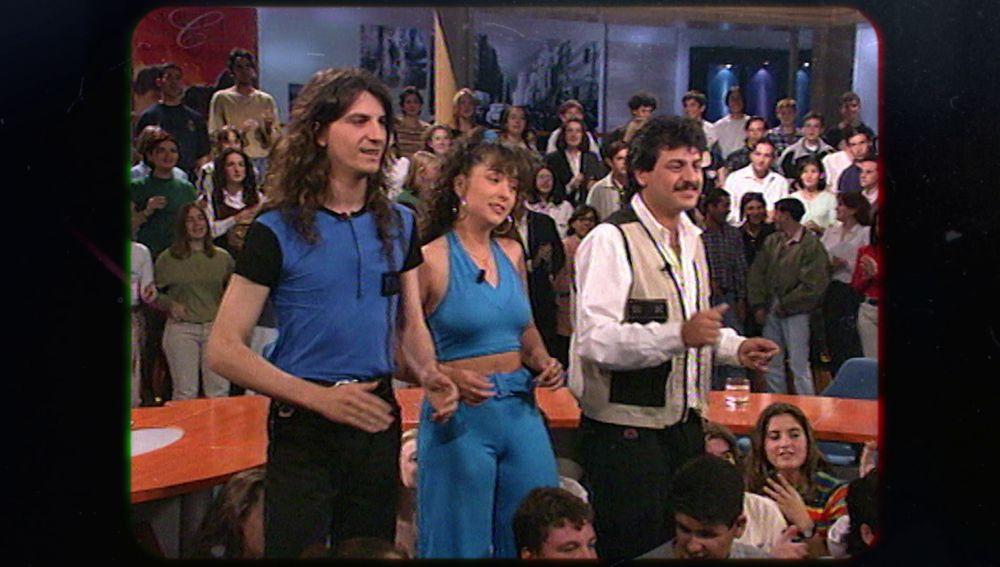 La primera vez que Camela salió en televisión con Nieves Herrero
