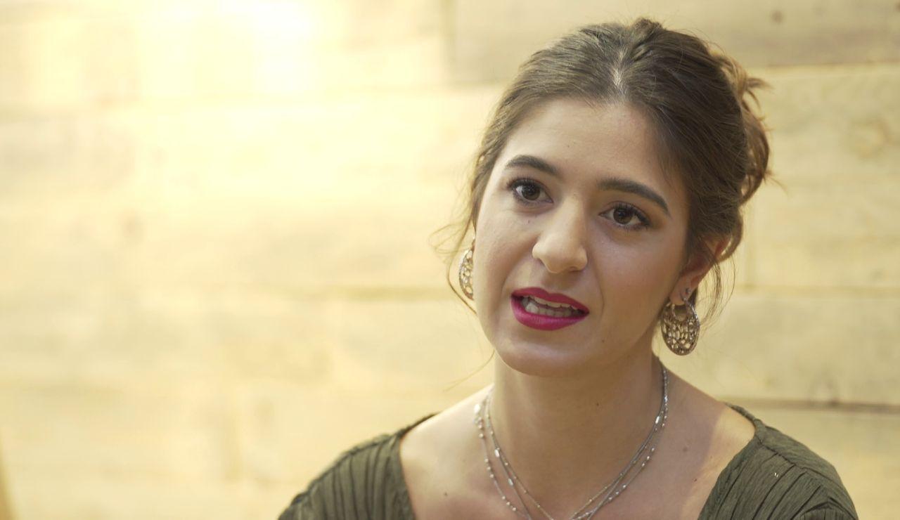 """Candela Cruz es Miriam en 'Alba': """"Es una mujer que por circunstancias de la vida no ha llegado a ser lo que quería"""""""