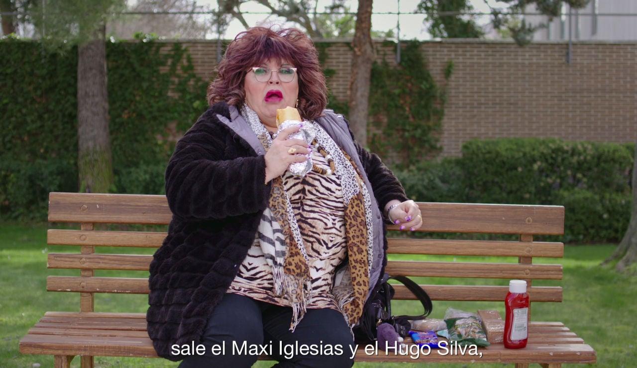 """Paca La Piraña, enganchada a 'La cocinera de Castamar': """"Hay intrigas palaciegas nena: celos, envidia, lucha con espadas..."""""""