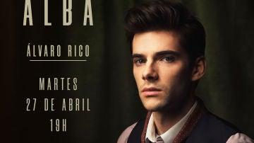 Este martes hablamos en directo con el actor Álvaro Rico