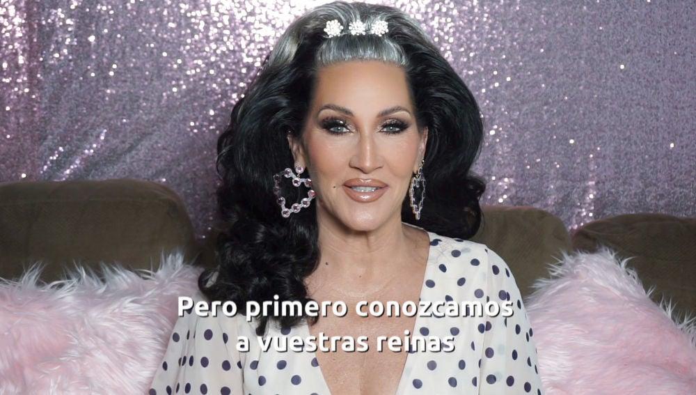 """Michelle Visage presenta a las reinas de 'Drag Race España': """"Are you ready?"""""""