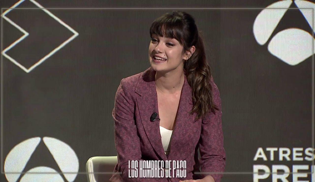 Amaia Sagasti y Juan Grandinetti explican sus papeles en 'Los hombres de Paco'