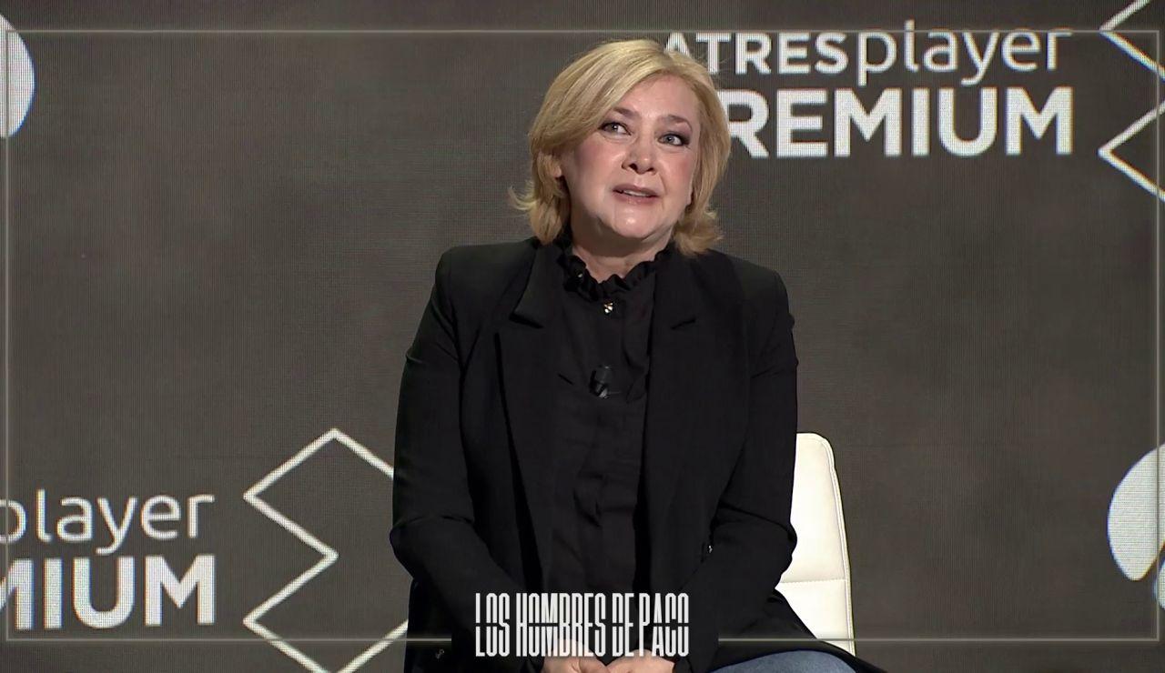 """Amparo Larrañaga, emocionada con su personaje en 'Los hombres de Paco': """"Ojalá me retire haciendo esta serie"""""""