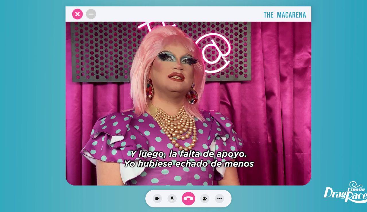 """The Macarena, tras su marcha de 'Drag Race España': """"Cualquier cosa que sea divertida, rara y tenga colores es para mí"""""""