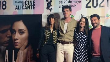 Presentación de 'Alba' en el Festival de Internacional de Cine de Alicante