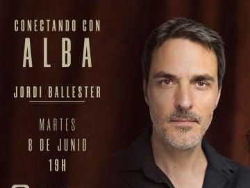 Este martes, entrevista en directo con el actor Jordi Ballester en ATRESplayer