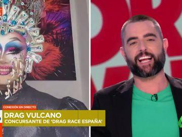 """Drag Vulcano cambia las plataformas por los tacones: """"Aquí me tienen"""""""