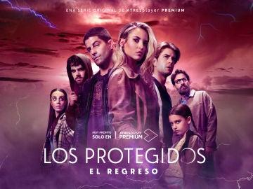Cartel oficial de 'Los Protegidos: El regreso'