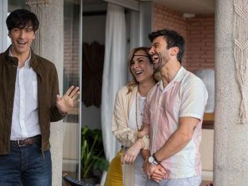 Ana Milán conoce a los padres de Adolfo, su marido por amistad