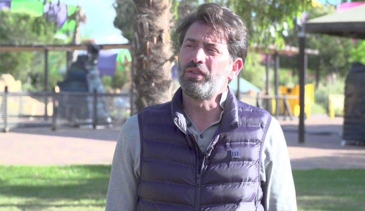 """Antonio Garrido: """"Me crucé con Daniel Avilés por el pasillo y no le reconocí"""""""