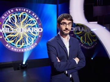 Juanra Bonet se pone al frente de la nueva adaptación de '¿Quién quiere ser millonario?'