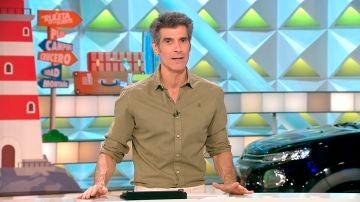 """Jorge Fernández en 'La ruleta de la suerte': """"Nada supera el frío del AVE en verano"""""""