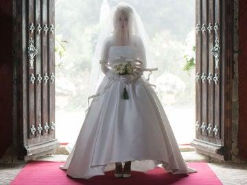 El vestido de Patricia Márquez en su boda con Valentín Alcocer