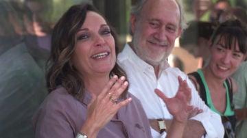Cristina Plazas, entre lágrimas, cierra la grabación de 'El Nudo' con un emotivo discurso