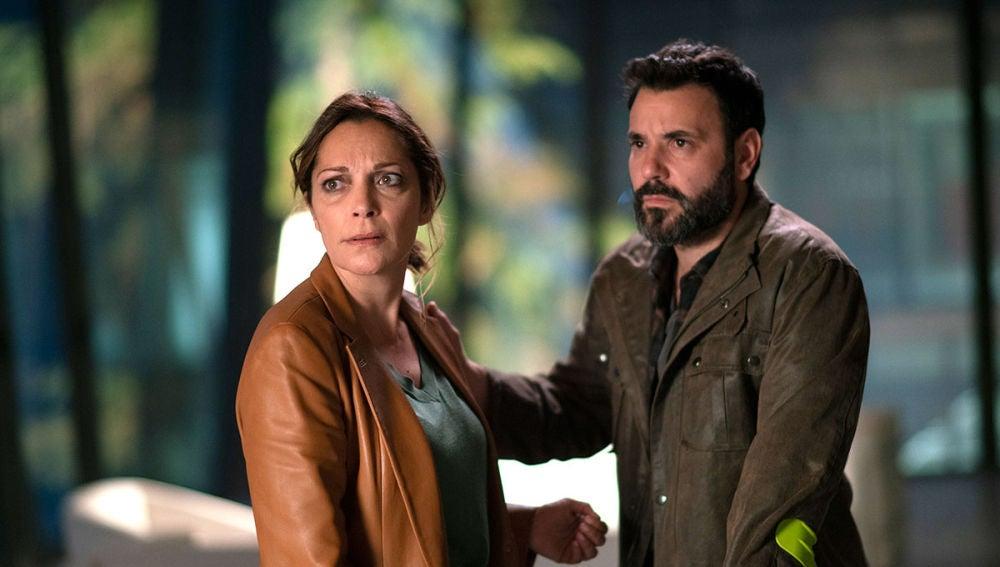 Rebeca y Sergio en 'El Nudo'