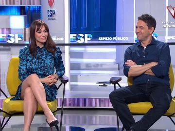 Natalia Verbeke y Oriol Tarrasón en Espejo Público