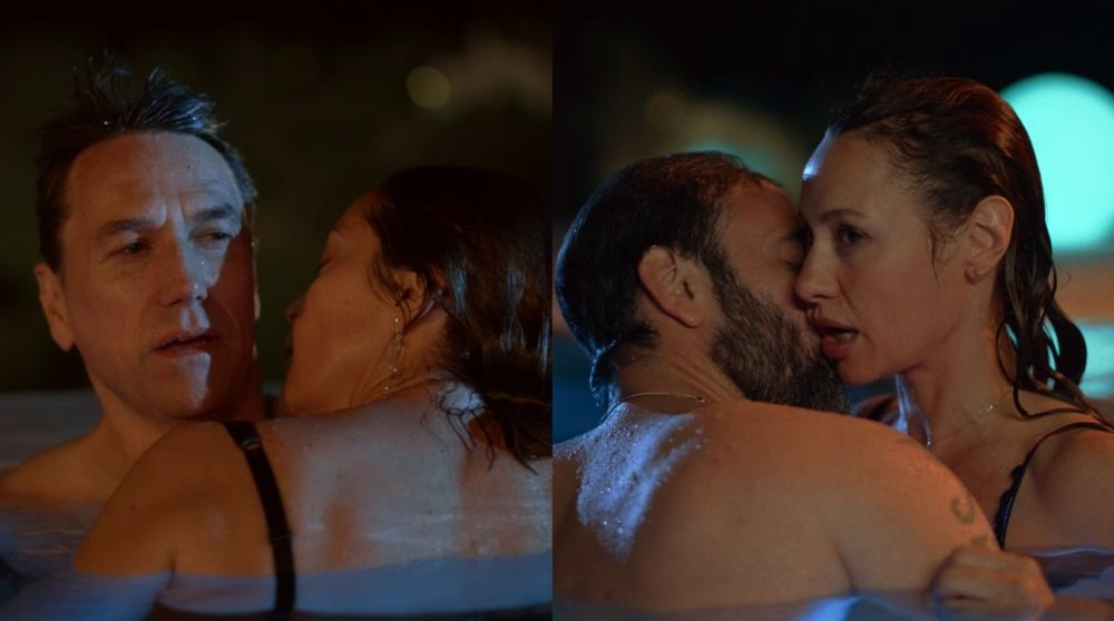 El deseo y la excitación se apoderan de Cristina y Daniel