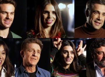 Los actores que protagonizan la campaña de Navidad de ATRESplayer PREMIUM comparten sus recuerdos en sus exitosas series