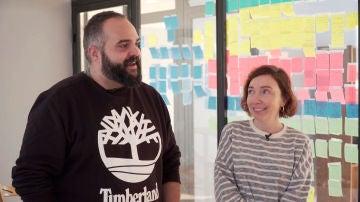 Borja Glez. Santaolalla y Diana Rojo desvelan los secretos del éxito de #Luimelia