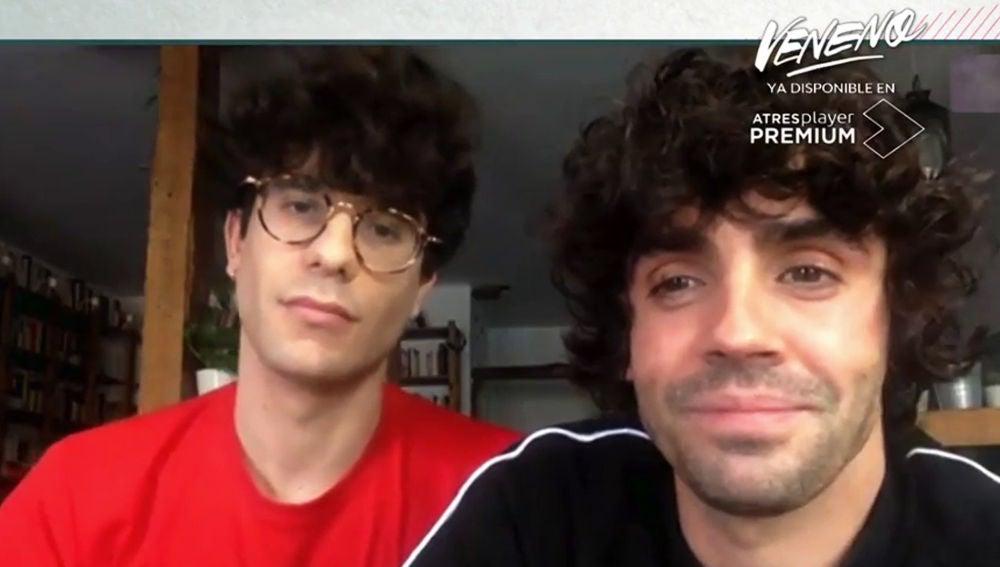 Javier Calvo y Javier Ambrossi en 'Liarla Pardo'