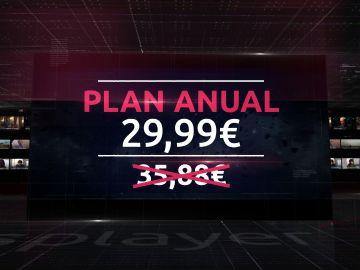 Suscripción paquete anual de ATRESplayer PREMIUM