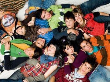 Los protagonistas de la primera temporada de 'Física o Química' en Antena 3