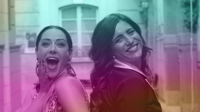 Luz Valdenebro y Lucía Jiménez en la segunda temporada de #Luimelia como las #Lurelia